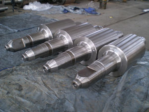 OEM Professional Forged Rotor Shafts pictures & photos