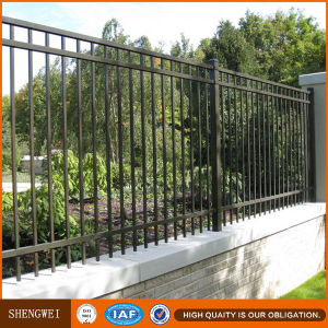 Steel Yard Tube Fence Panel Desins pictures & photos