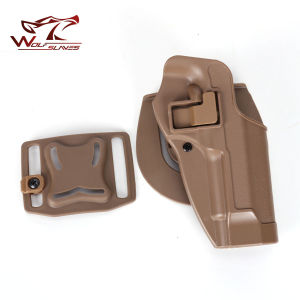 Tactical Drop Leg Beretta Holster M92 Airsoft Pistol Holster for Sale pictures & photos