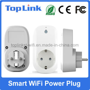EU Type Smart WiFi Control Power Switch Socket with Alexa Function Support Remote Control