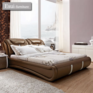 China Global Hot Selling and Modern Design Bedroom Furniture Leather ...