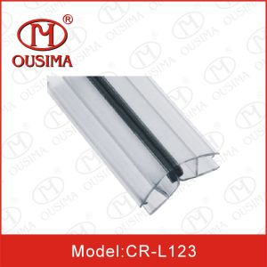 Waterproof Bath Shower Screen Door Seals for 6-12mm Glass, Weather Magnetic Strip for Glass Door