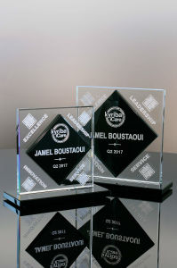 Geometric Glass Award (#02-86, #02-87) pictures & photos