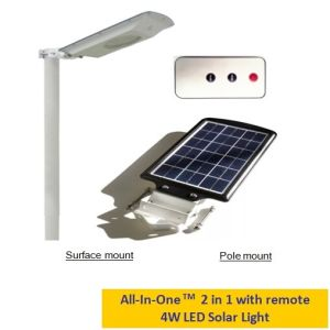 Alumium Case Solar LED Outdoor Area/Garden Lamp