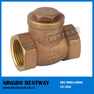 China Brass Check Valve Factory (BW-C04) pictures & photos