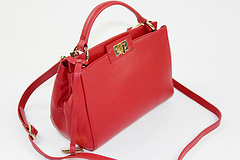 Latest Designs Mini Red Genuine Leather Handbags for Womens Collections pictures & photos