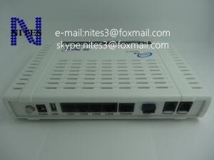 Original New Fiberhome An5506-04 Gpon ONU Optical Network Terminal with 4  LAN Ports + 2 Voice Ports White Color