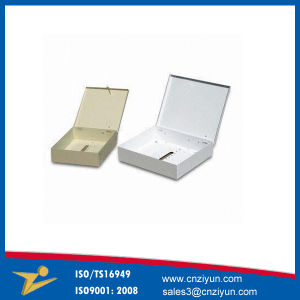 Customized Metal Electric Enclosure with Zinc Plating, PVC Powder Coating pictures & photos