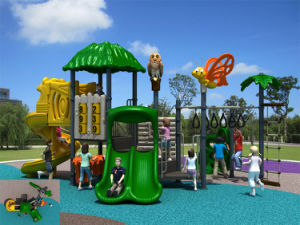 Kaiqi Medium Sized Forest Themed Children′s Playground (KQ20024A) pictures & photos