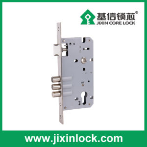85series Lockbody with Latch and 3 Round Deadbolt (A02-8560-06)
