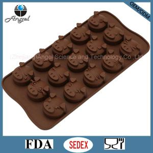 15-Cavity Silicone Chocolate Mold Tool for Decoration Cake Mold Sc22