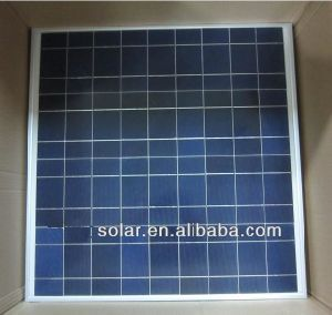 50W Poly Solar Panel, Professional Manufacturer From China, TUV Certificate! pictures & photos