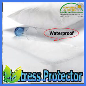 Cotton Waterproof Mattress Protector Quilted pictures & photos