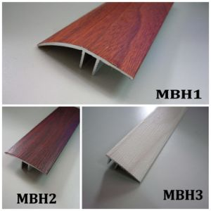 Stair Nose L Shape Width 36mm Height 20mm Wrapped Wood PVC Accessories pictures & photos