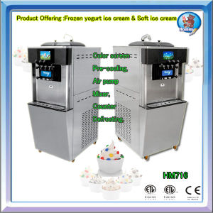Hot Sale Frozen Yogurt Ice Cream Dispensing Machine HM716 pictures & photos
