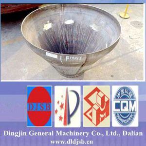 Stainless Steel Conical Head for Storage Tank Pipe Cap pictures & photos