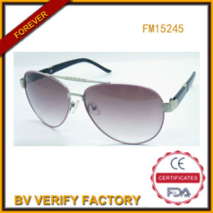 Good Selling Sunglasses Metal Frame for Man (FM15245) pictures & photos