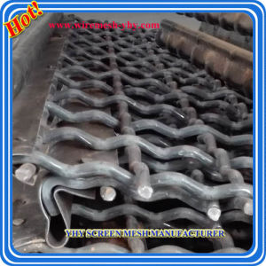 High Quality Steel Crimped Wire Mesh for Vibrating Screen Mesh in Mining