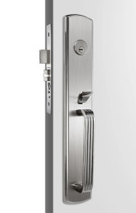 Satin Stainless Steel Door Lock / Entry Door Handlesets With Knob