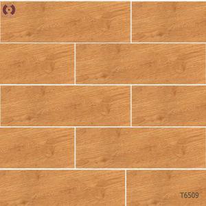 China Bathroom Tiles Wooden Grain Ceramic Floor Tile Building