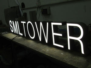 Brushed Advertising 3D Matel Aluminum Letter Signs pictures & photos