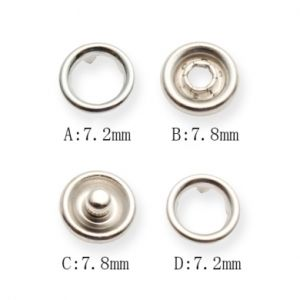 China Hot Sale Brass Prong Snap Button Pass All Test - China Button ...