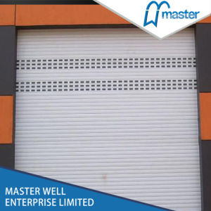 Residential Electric Aluminum Roller Shutter Garage Door pictures & photos