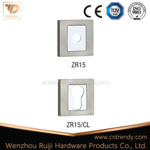 Square Rosette/Lock Cover/Zamak Handle Escutcheon