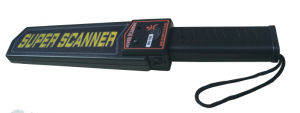 Hand-Held Metal Detector with Rechargeable Battery and Battery Charger (CV-MD100)