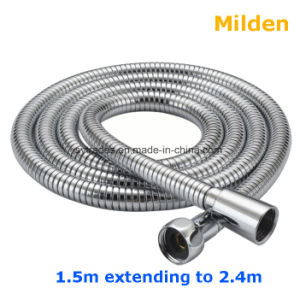 4 Colors  Flexible 1.5M Tube Pipe Water Hose For Bathroom Handheld Shower Faucet