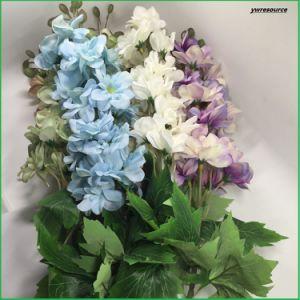 Silk Artificial Flowers Fake Delphinium For Home Decoration Wholesalers