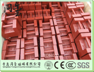 10kg 20kg Test Weight for Crane, Cast Iron Counter Weight