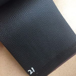 0.9mm Soft Stock Lychee PVC Leather for Bags Totes Hx--B1758 pictures & photos