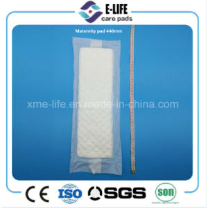 High Absorption Thick Postpartum Pad Maternity Pad Wingless pictures & photos