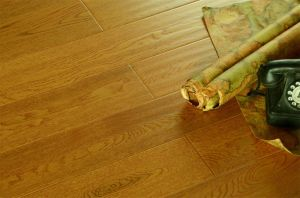 Hardwood Engineered Wood Flooring for Living Room