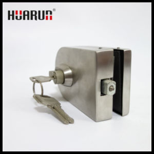 Foshan satin finish stainless steel glass door lock (HR-1174/1175) pictures & photos