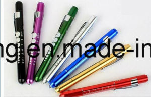 Wholesale LED Pen Light with Pupil Gauge, Medical Pen Torch for Nurses, LED Medical Penlight for Doctors pictures & photos