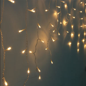 EU 3X3m Light Curtain String Fairy Lights Wedding Birthday Party Decor