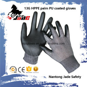 Safety Glove, 13G Hppe Safety Cut Resistant Glove Level Grade 3 and 5 pictures & photos