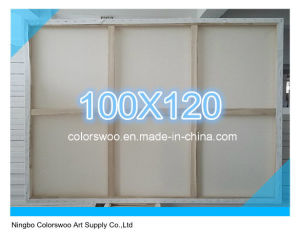 100*120cm Stretched Canvas for Painting and Drawing pictures & photos