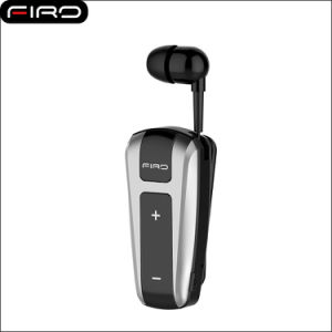 2017 Firo Clip-on Retractable Bluetooth Wireless Earphones music