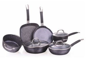 Stamping Hera Non-Stick Coating Aluminium Cookware A1008 pictures & photos