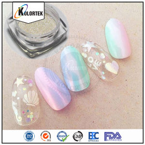 Unicorn Aurora Powder for Nail Polish pictures & photos