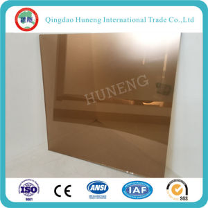 4mm-8mm Building Glass Bronze Reflective Glass