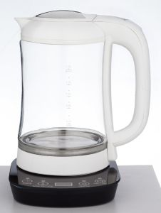 Glass Kettle with Digital Base pictures & photos