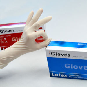 Disposable Latex Gloves for Food pictures & photos