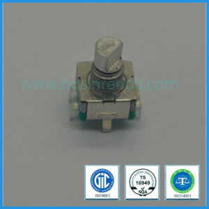 11mm 15p or 20p Incremental Metal Shaft Manual Rotary Encoder for Car Radio pictures & photos