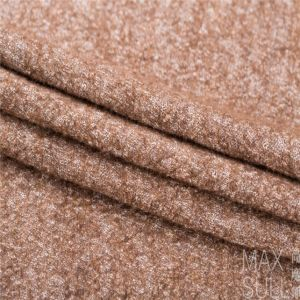 Wool /Cotton Fabric for Autumn/Winter in Brown