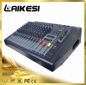 Mx1206D Powered Mixer Console with Power Amplifier/Bluetooth pictures & photos