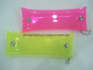 Colored PVC Bag with Button for Packing Accessories pictures & photos